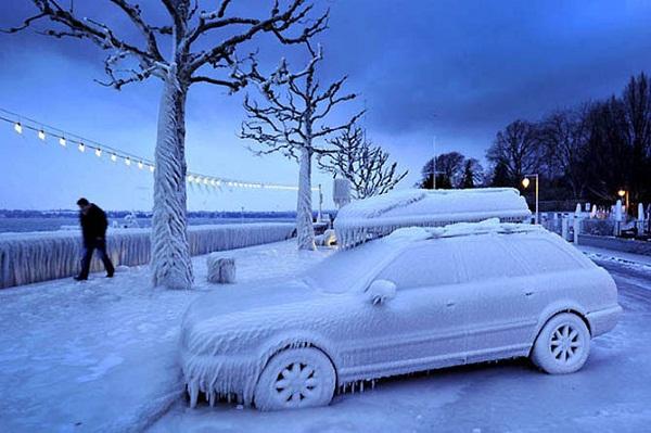 подготовка машины к зиме часть 2